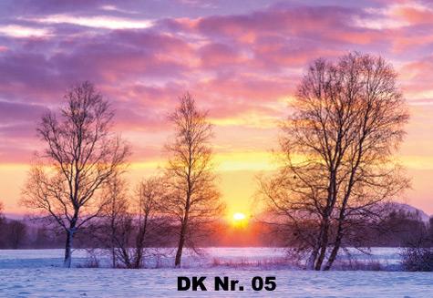 Klappkarten - Winter