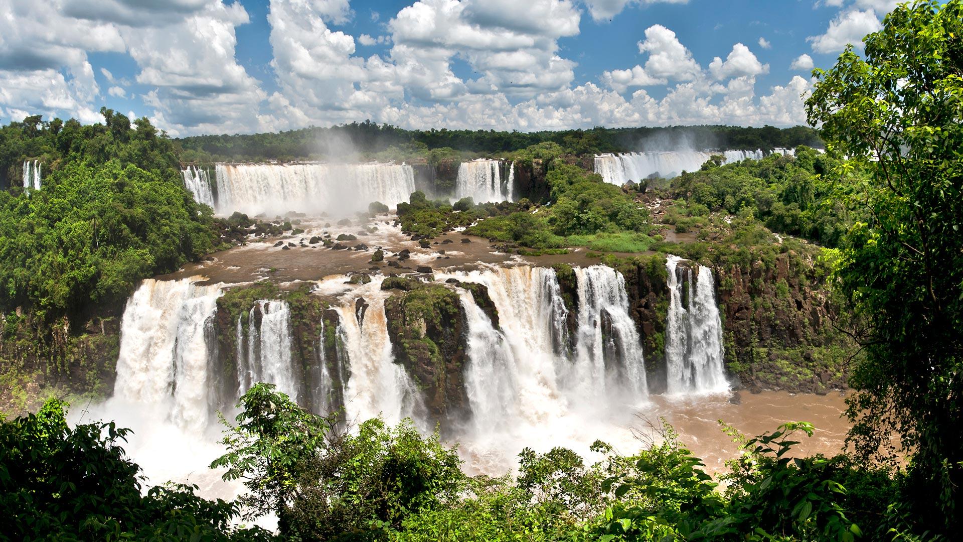 Rio Iguaçu, Brasilien