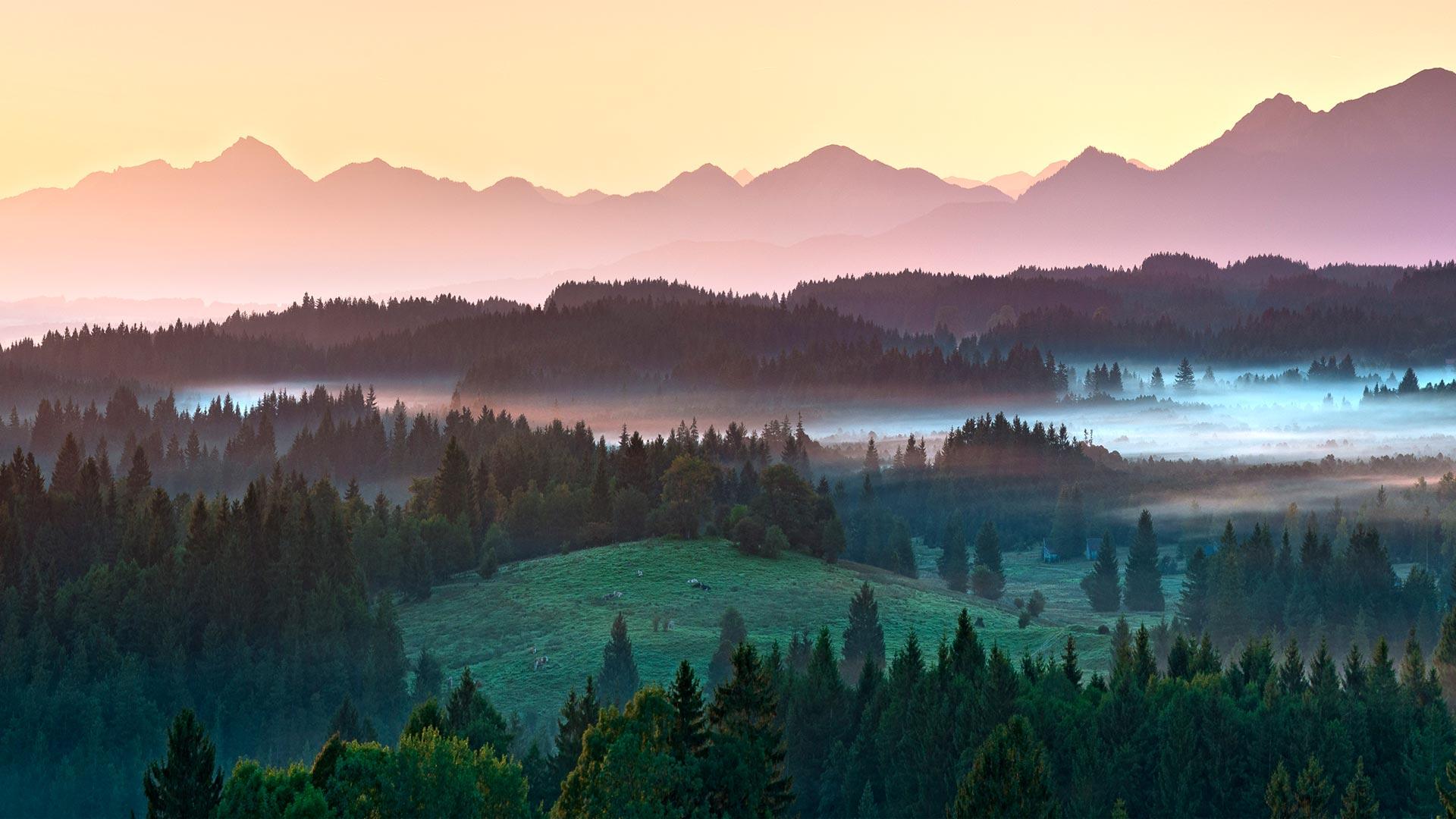 Alpen, Oberbayern