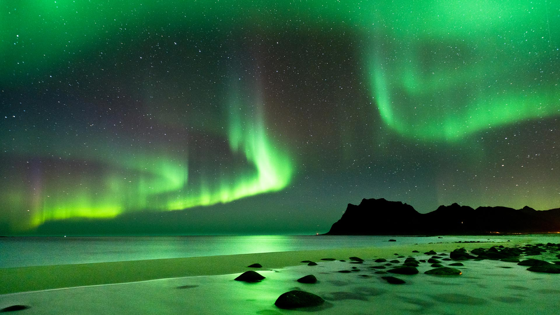 Polarlichter, Norwegen